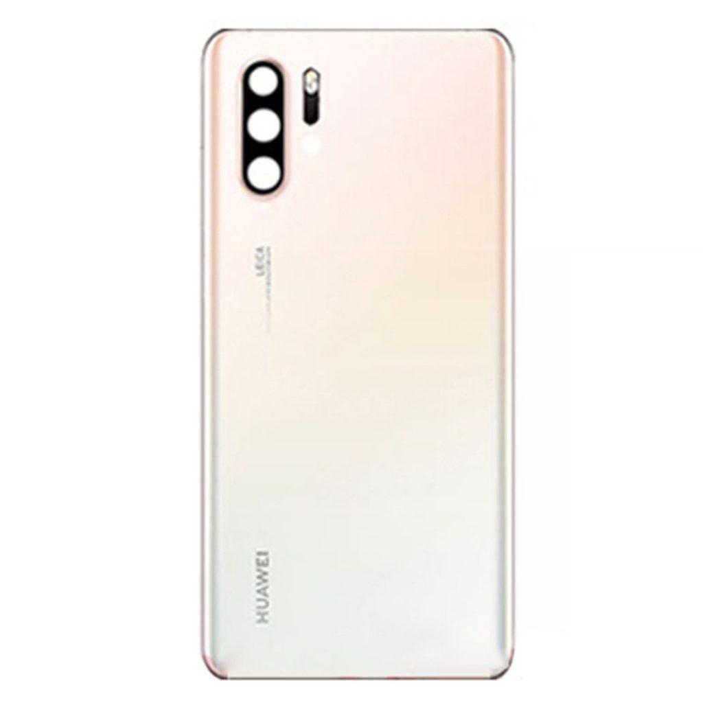 Huawei P30 Pro zadní skleněný kryt baterie včetně krytky čočky fotoaparátu bílý