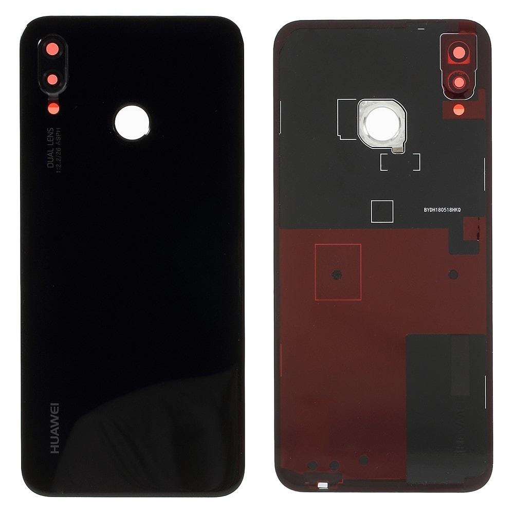 Huawei P20 Lite zadní kryt baterie černý včetně krytky fotoaparátu