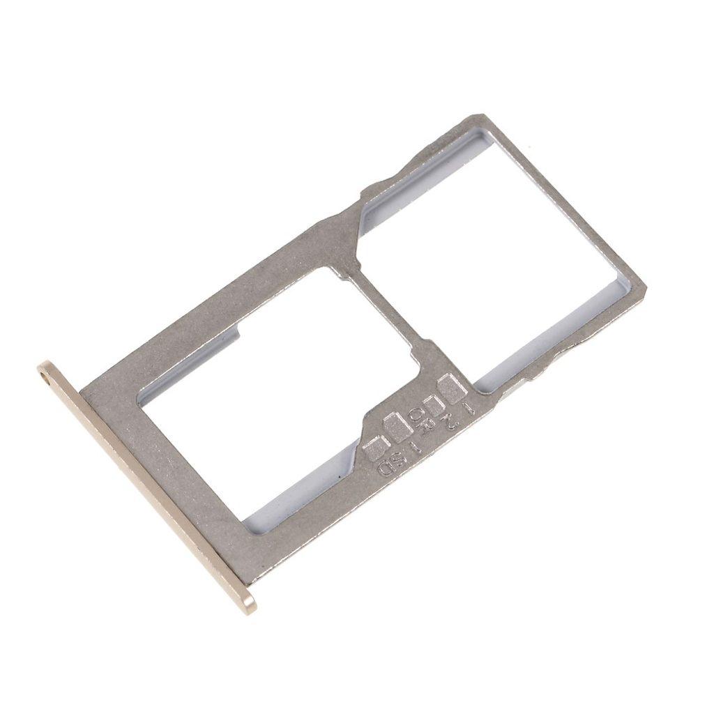 Asus Zenfone 3 Max ZC553KL šuplík na SIM SD kartu zlatý