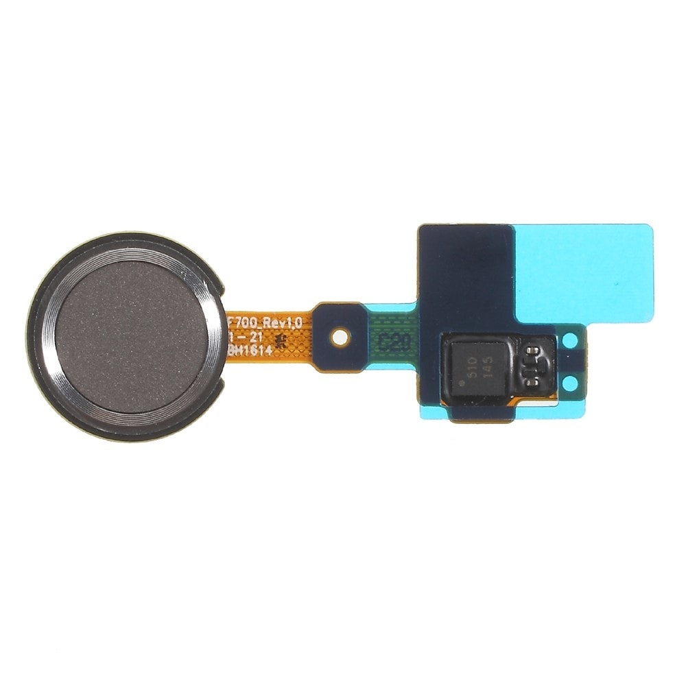 LG G5 čtečka otisku prstu home button tlačítko flex šedý