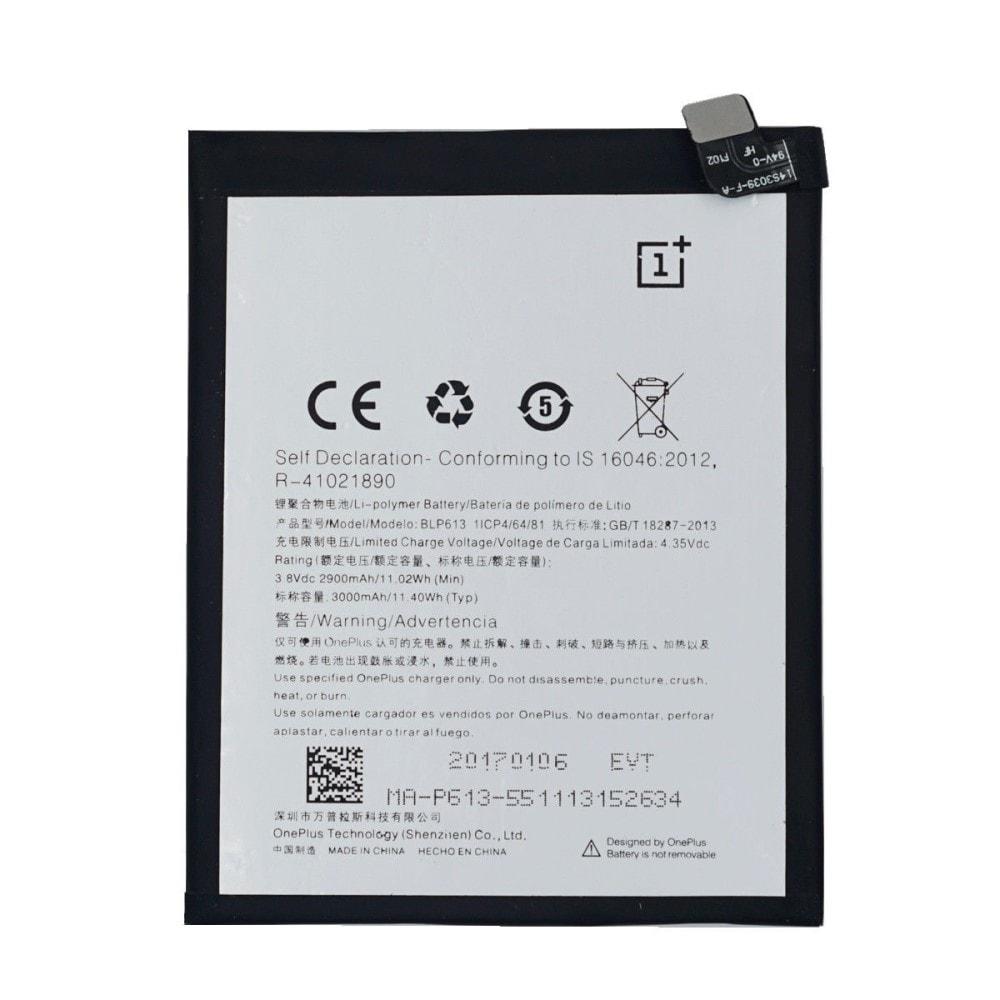 Oneplus 3 Baterie BLP613