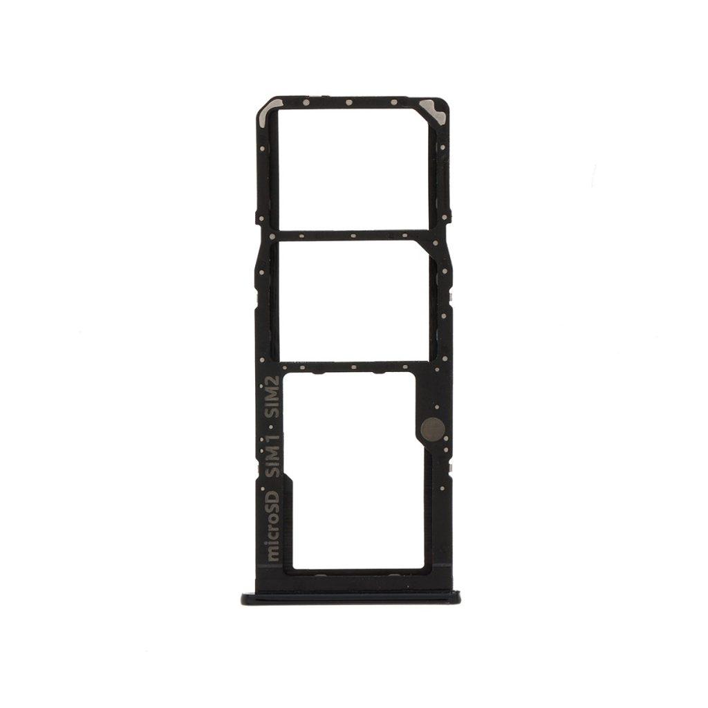 Samsung Galaxy A51 šuplík na SIM a SD Kartu černý SM-A515/A71 SM-A715