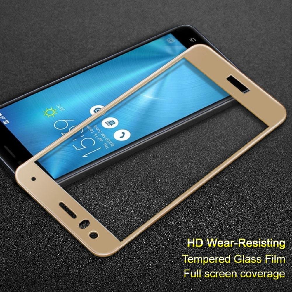 Huawei P10 Lite Ochranné tvrzené sklo 3D zlaté
