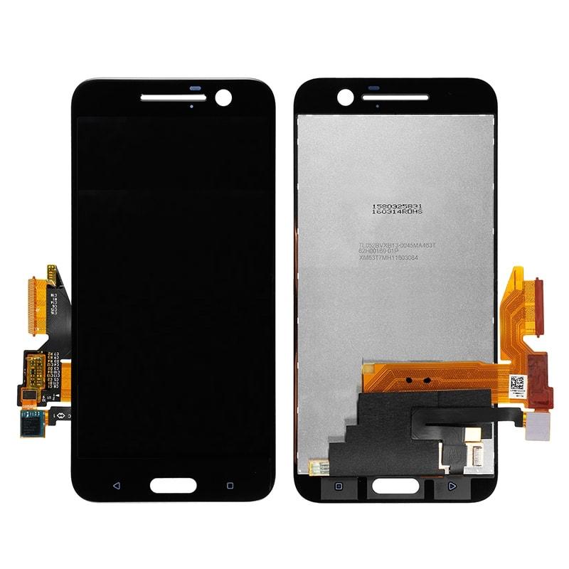 HTC 10 LCD displej černý dotykové sklo komplet