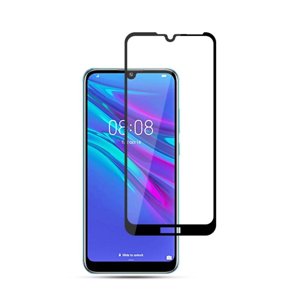 Huawei Y6 Prime (2019) Ochranné tvrzené sklo černé