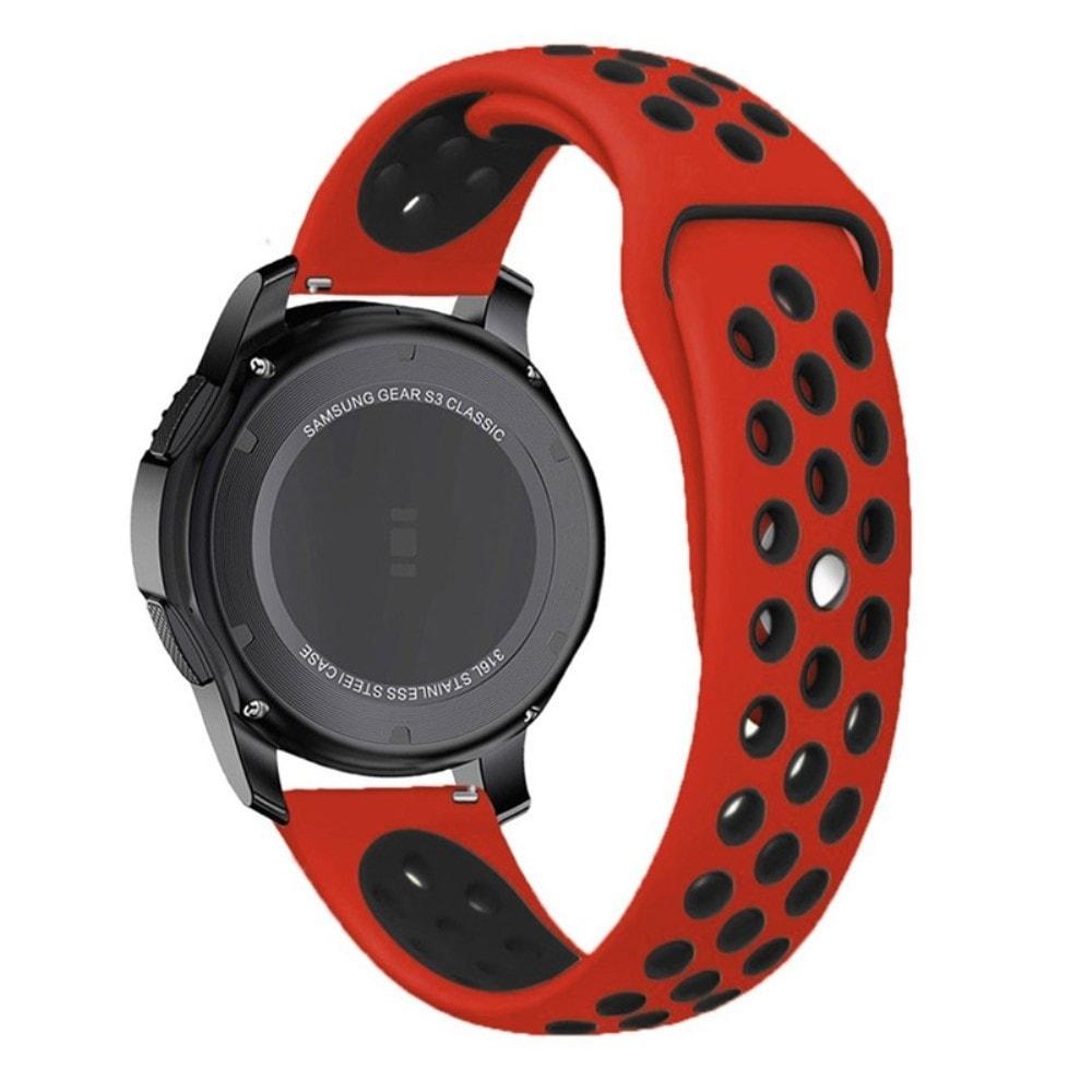 Samsung Gear S3 Frontier řemínek pásek sportovní Nike červeno černý