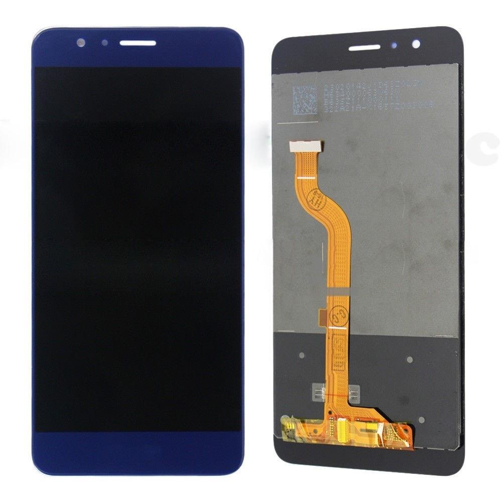 Honor 8 LCD displej modrý dotykové sklo komplet přední panel