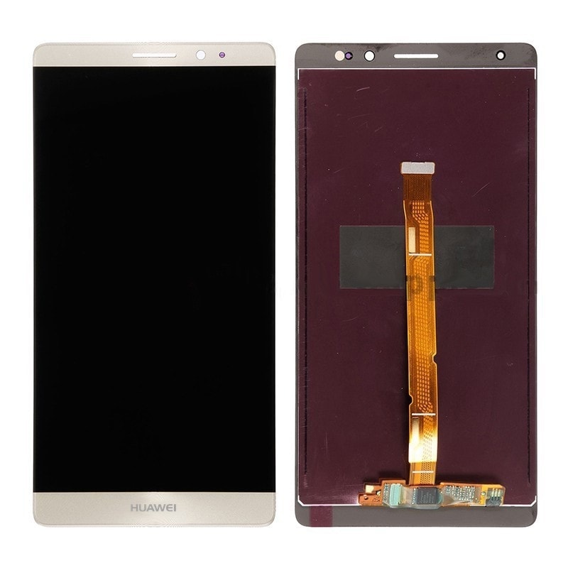 Huawei Mate 8 LCD displej zlatý + dotykové sklo komplet