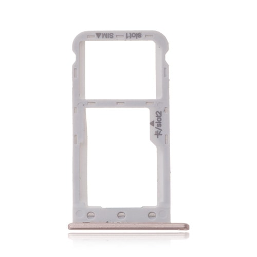 Huawei P9 Lite mini / Y6 2017 / šuplík na SIM SD kartu zlatý