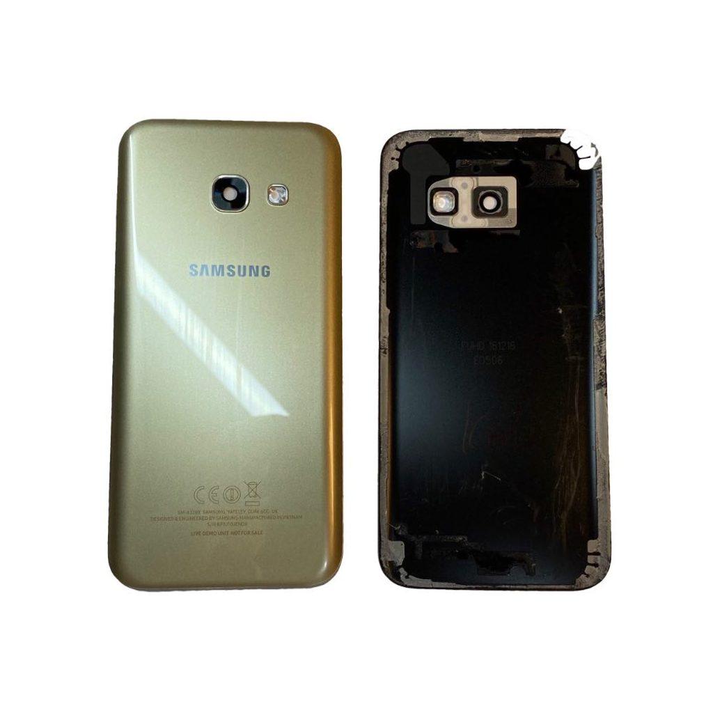 Samsung Galaxy A3 2017 zadní kryt baterie Originální A320F zlatý zánovní
