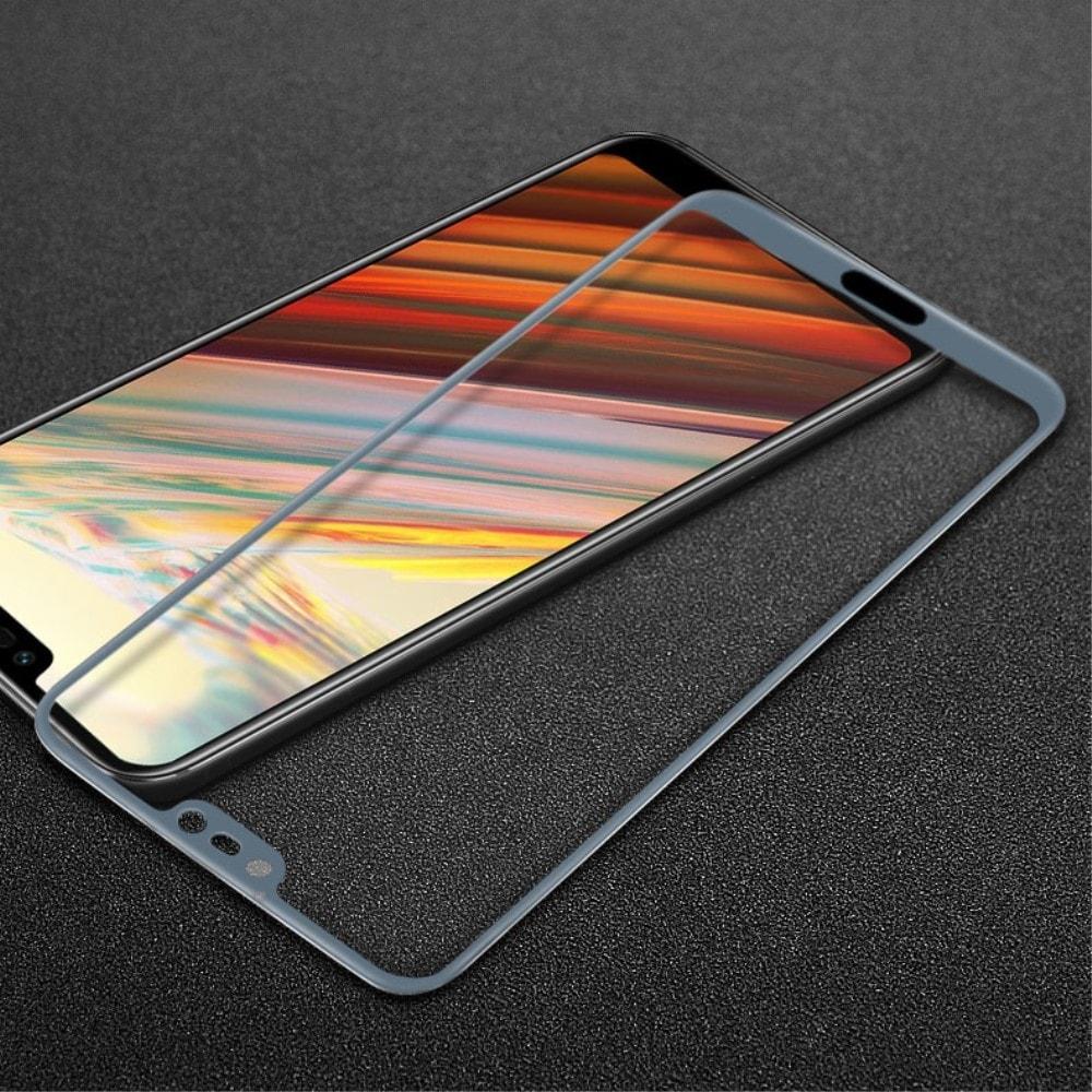 Honor 10 Ochranné tvrzené sklo 3D šedé