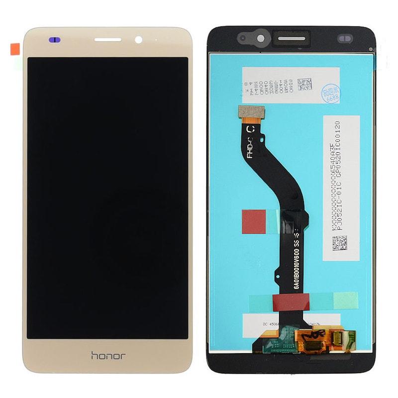 Honor 7 Lite / 5C LCD displej zlatý + dotykové sklo komplet