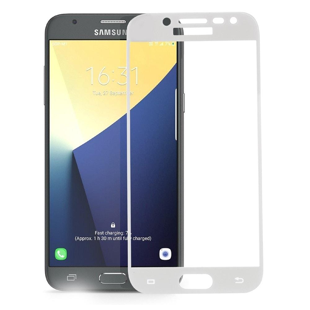 Samsung Galaxy J5 2017 Ochranné tvrzené sklo 3D bílé J530F
