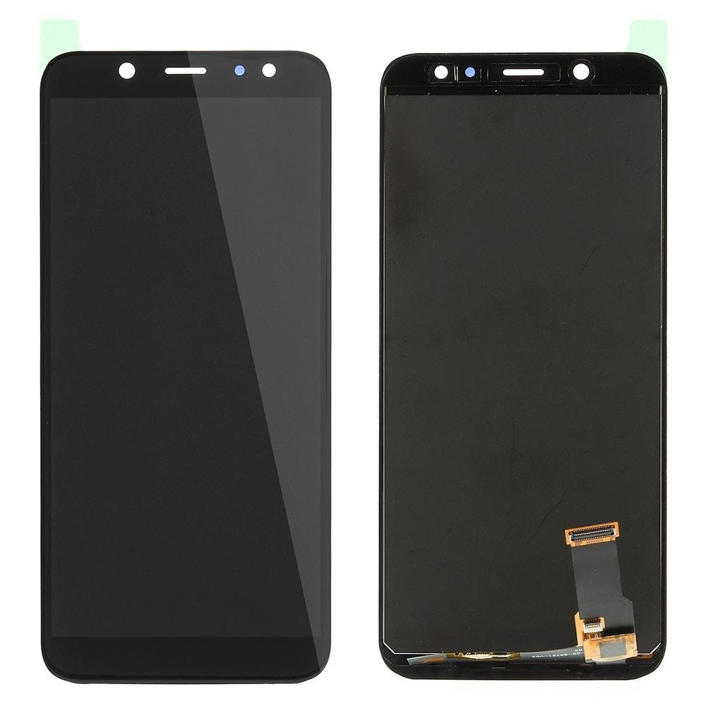 Samsung Galaxy A6 2018 LCD TFT displej dotykové sklo černé A600F