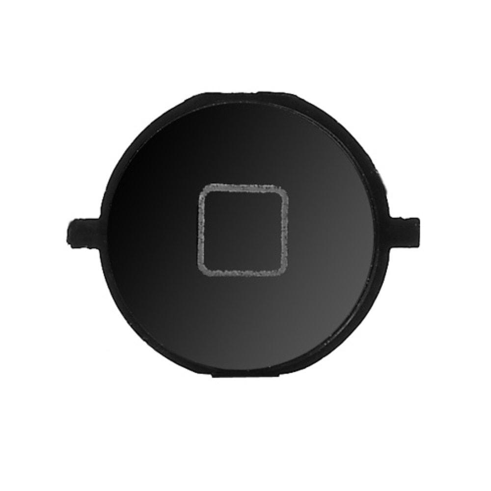 Apple iPhone 4S home button domovské tlačítko černé