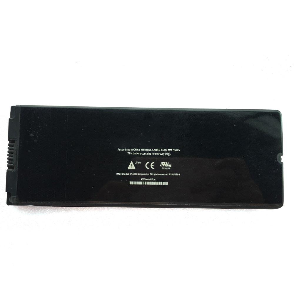 """Apple Macbook Black černý 13"""" A1185 A1181 Baterie MA561"""
