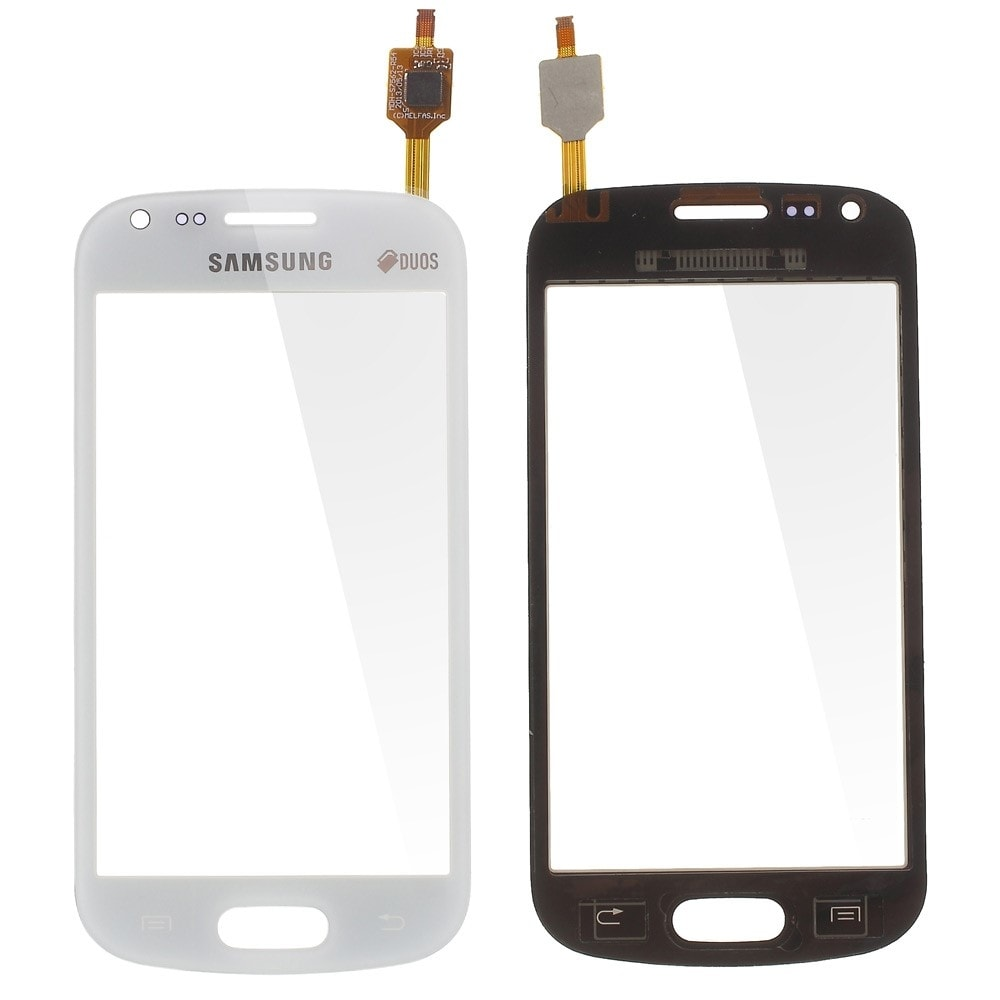 Samsung Galaxy S Duos dotykové sklo bílé Trend S7562 S7560