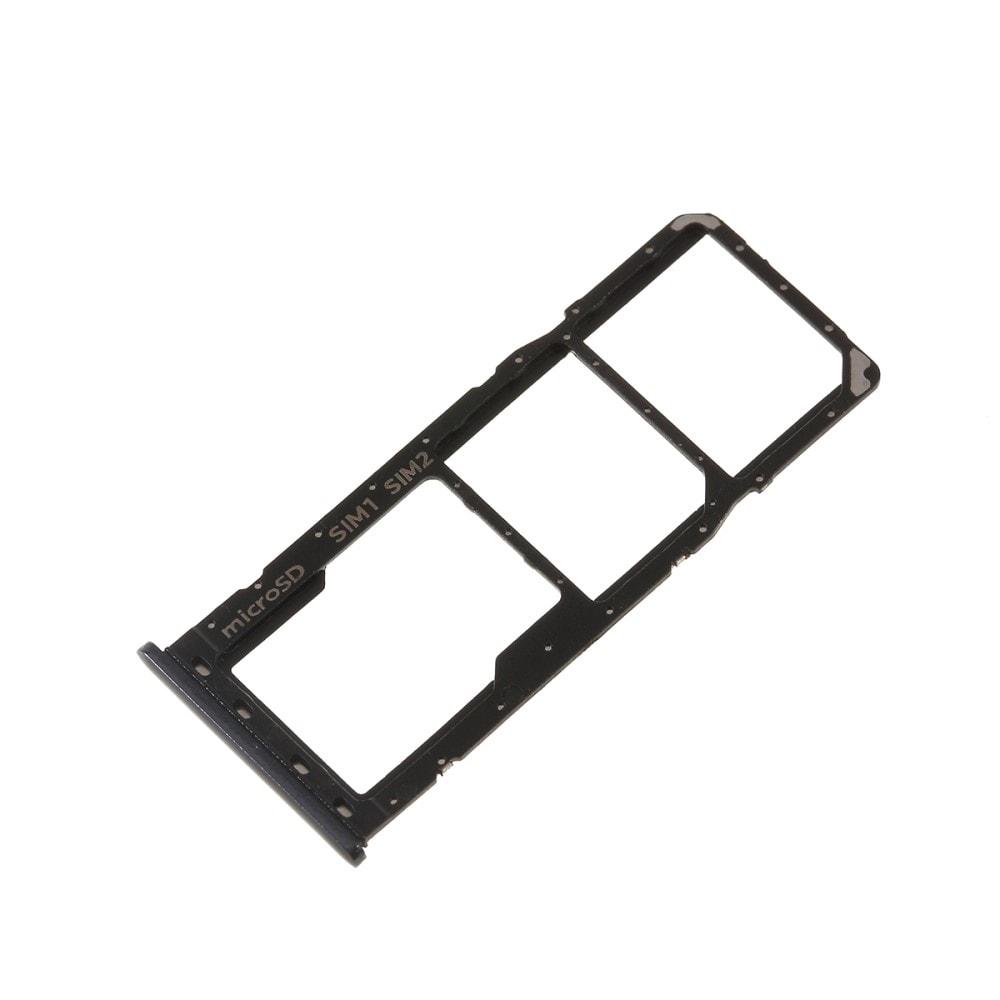 Samsung Galaxy A50 / A30 šuplík na SIM SD kartu černý A505/A305