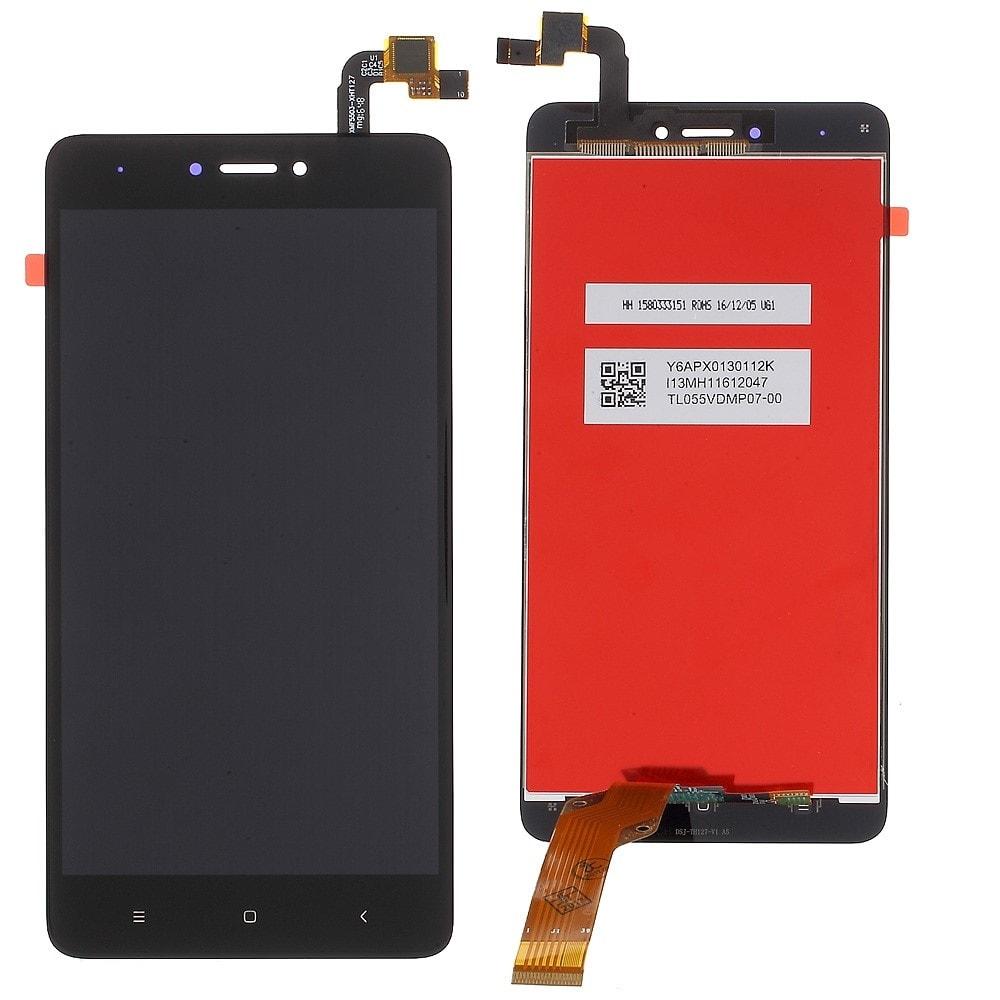 Xiaomi Redmi Note 4 Global / Note 4X LCD displej dotykové sklo černé