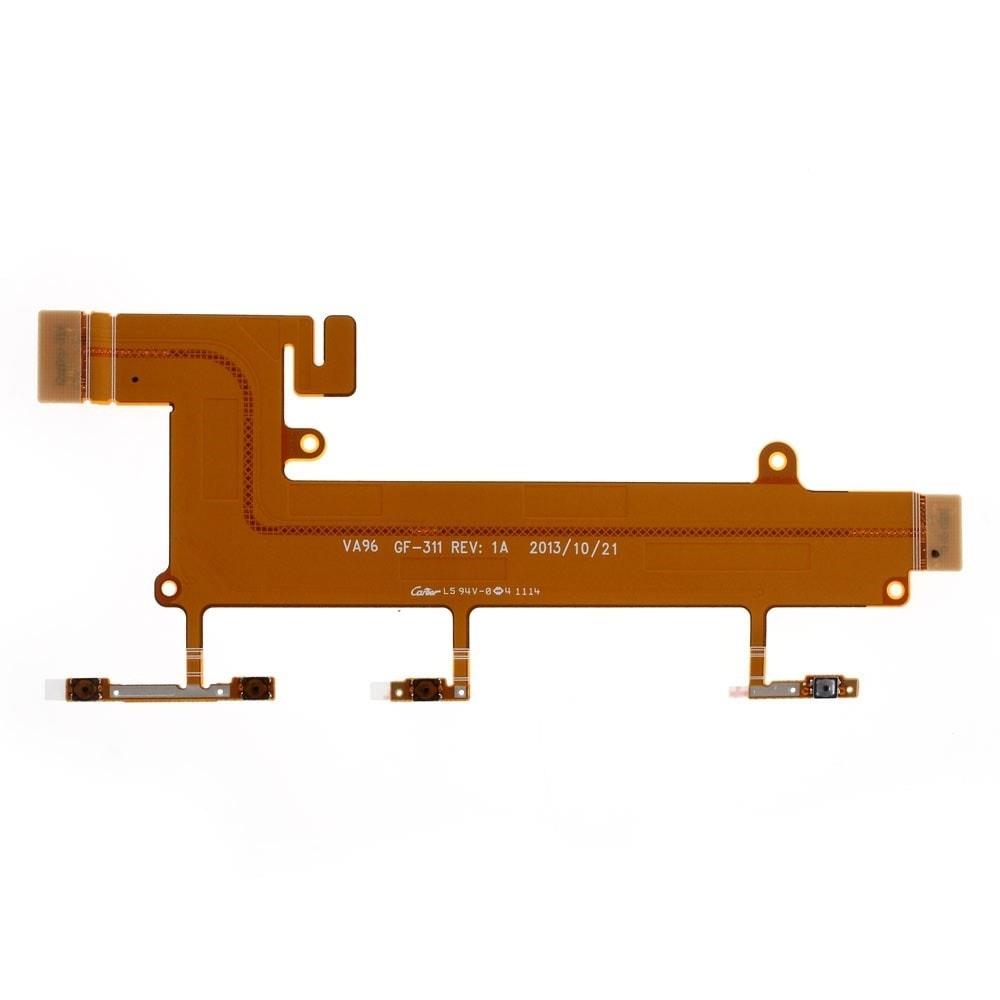 Nokia Lumia 1320 flex kabel tlačítka hlasitosti volume a zapínací power