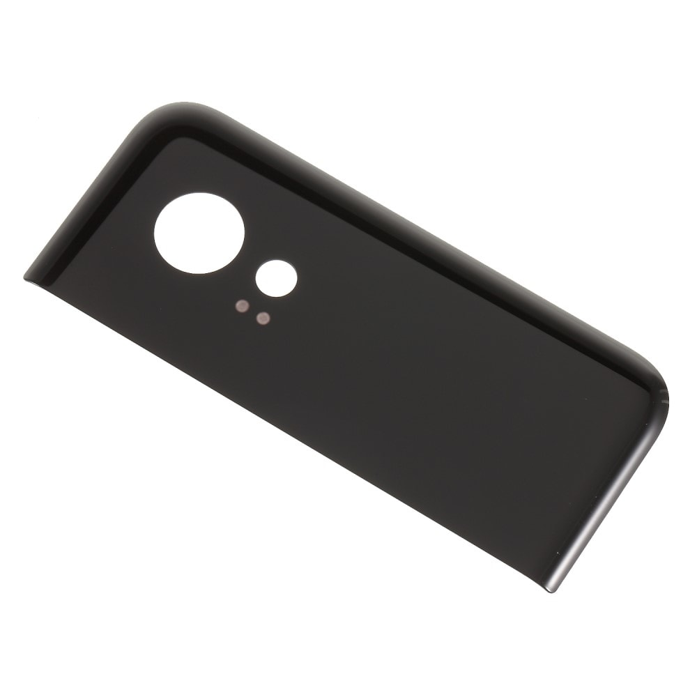 Google Pixel 2 XL skleněná krytka část zadního krytu baterie černá