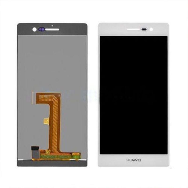 Huawei P7 LCD displej bílý dotykové sklo komplet