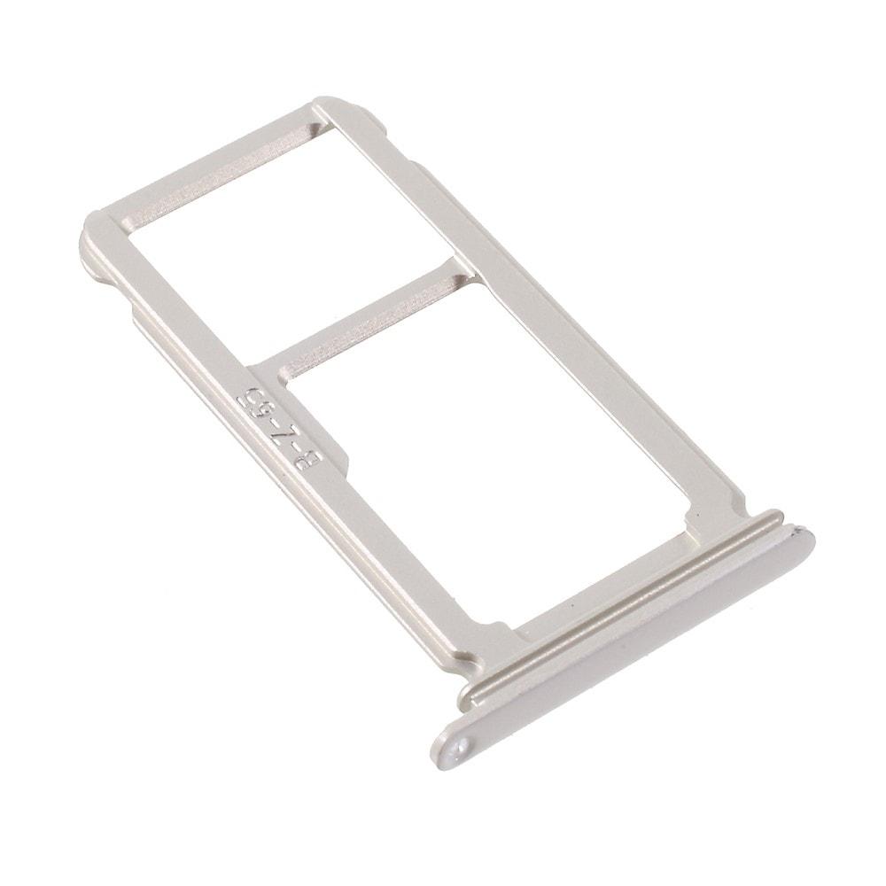 Huawei P10 Plus šuplík na SIM kartu držák SD stříbrný