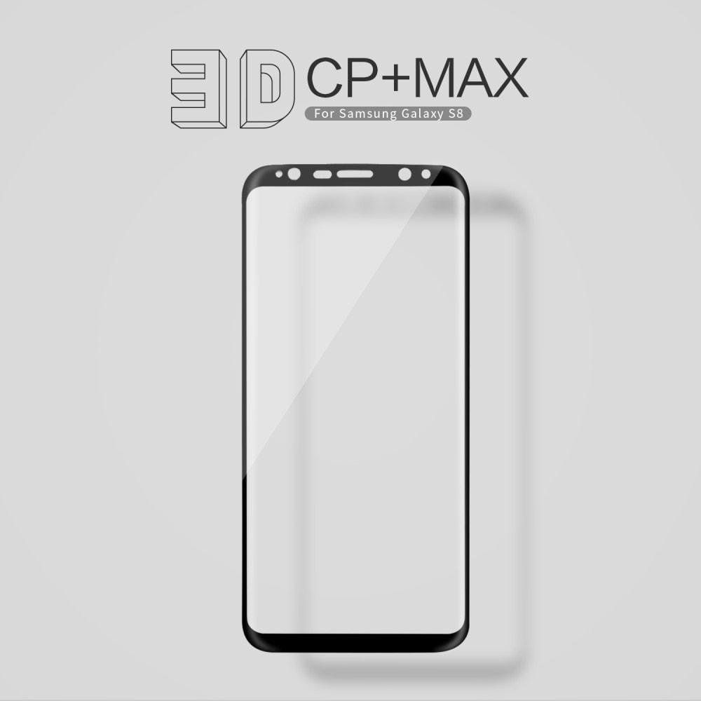 Samsung Galaxy S8 3D Tvrzené Ochranné sklo na displej se zahnutými rohy G950F NILLKIN černé
