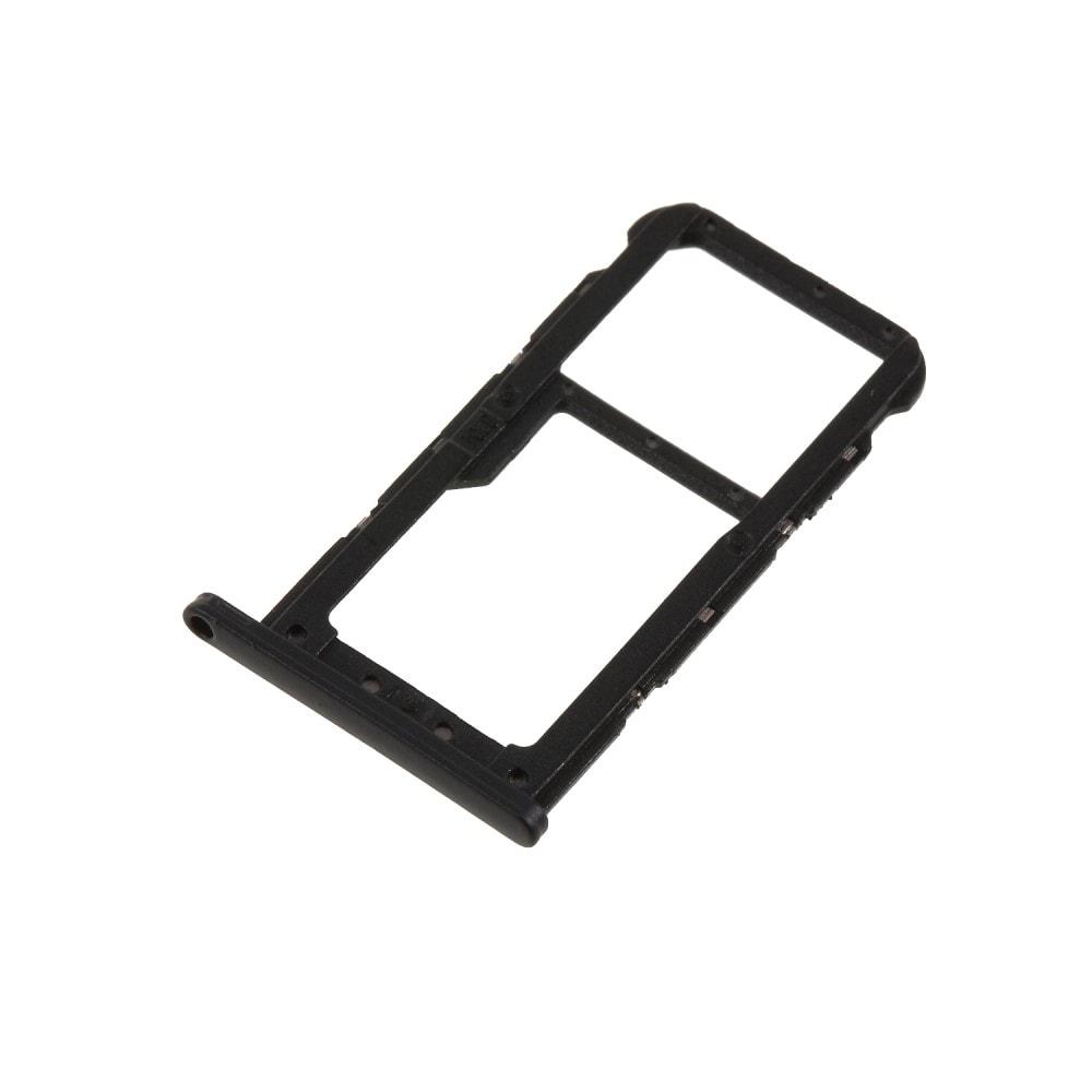 Huawei P20 Lite šuplík na SIM SD kartu tray černý