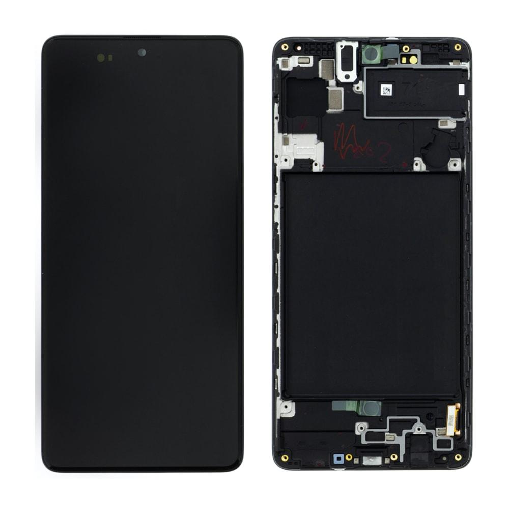Samsung Galaxy A71 Amoled LCD displej dotykové sklo A715