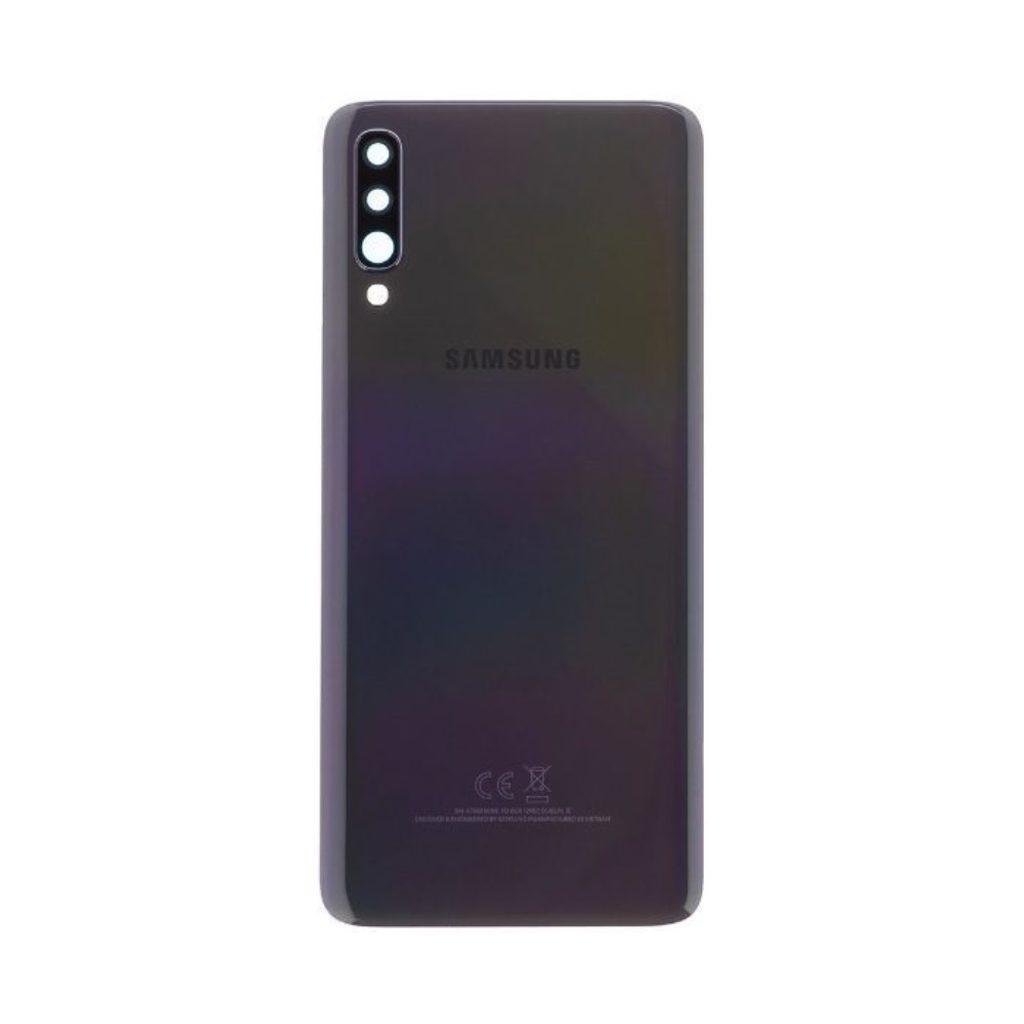 Samsung Galaxy A70 zadní kryt baterie černý A705 (Service Pack)