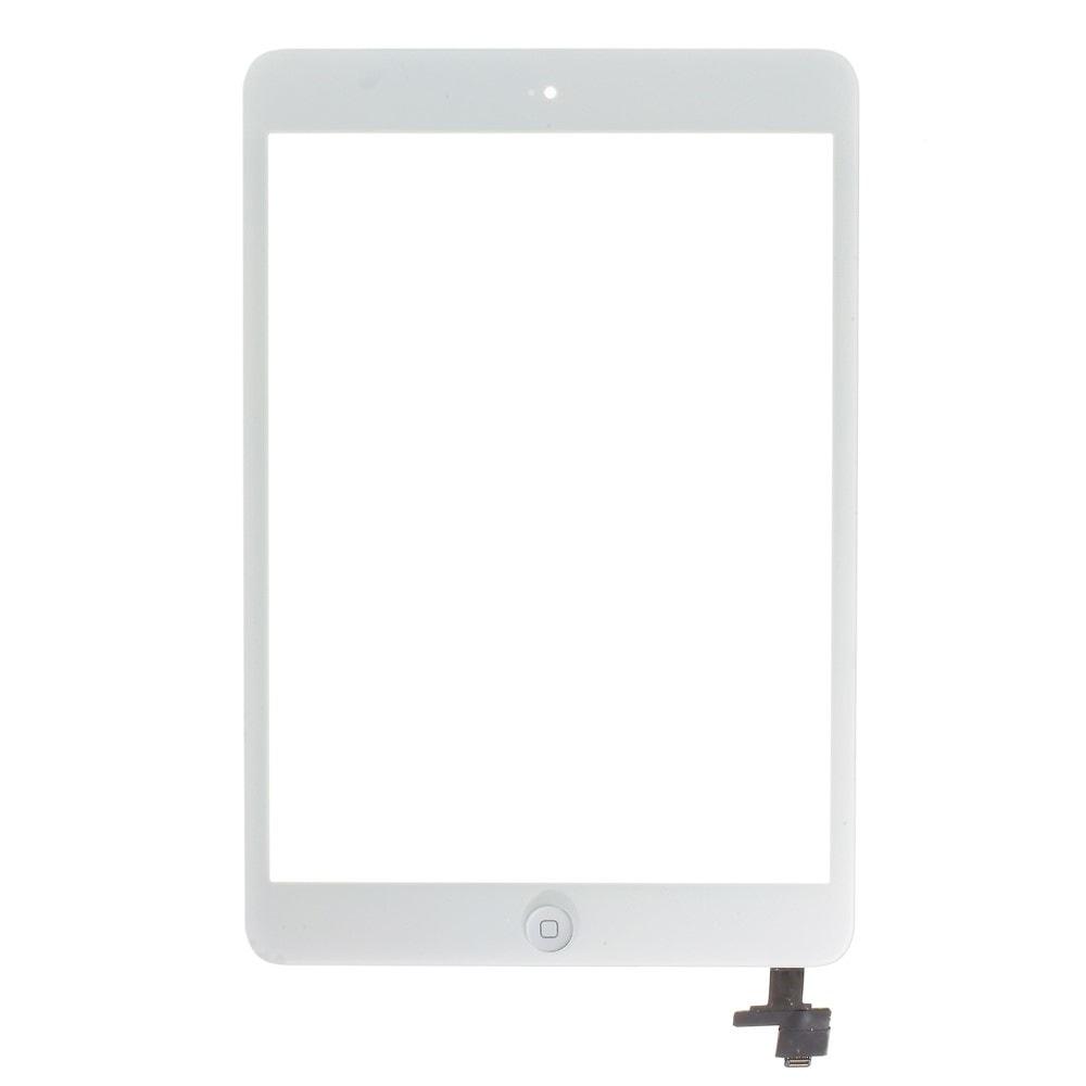 Apple iPad mini 1 / 2 dotykové sklo bílé IC čip