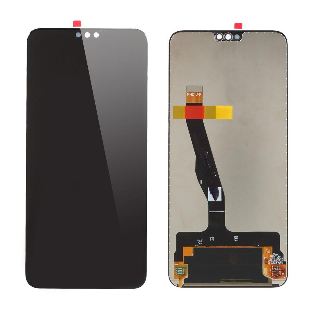 Honor 8X / Honor 9X lite LCD komplet  přední panel displej dotykové sklo černé (OEM)