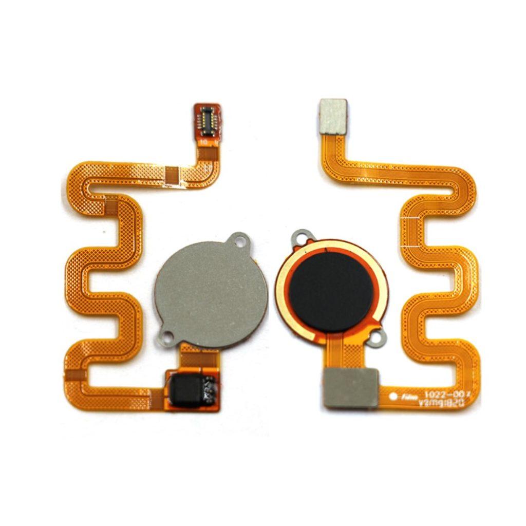 Xiaomi Mi A2 Lite čtečka otisku prstu flex kabel černý