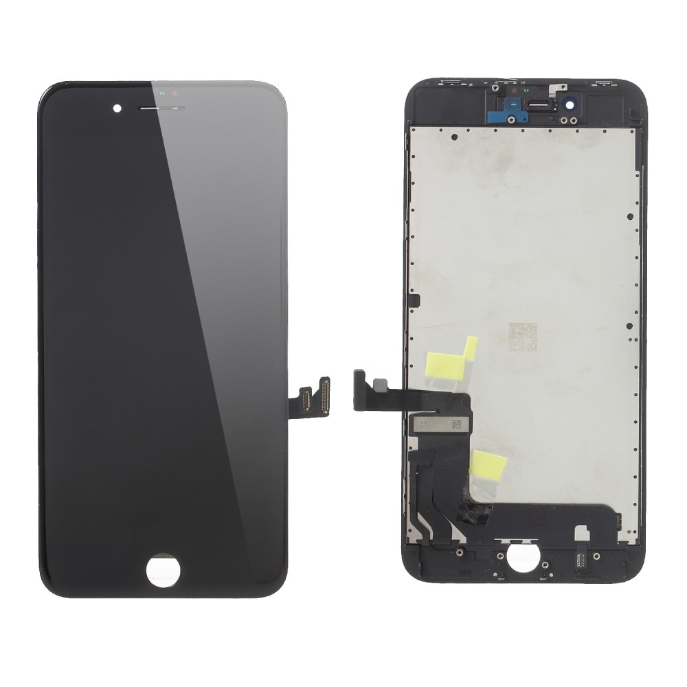 Apple iPhone 8 / SE (2020) LCD displej original dotykové sklo přední panel černý repasovaný