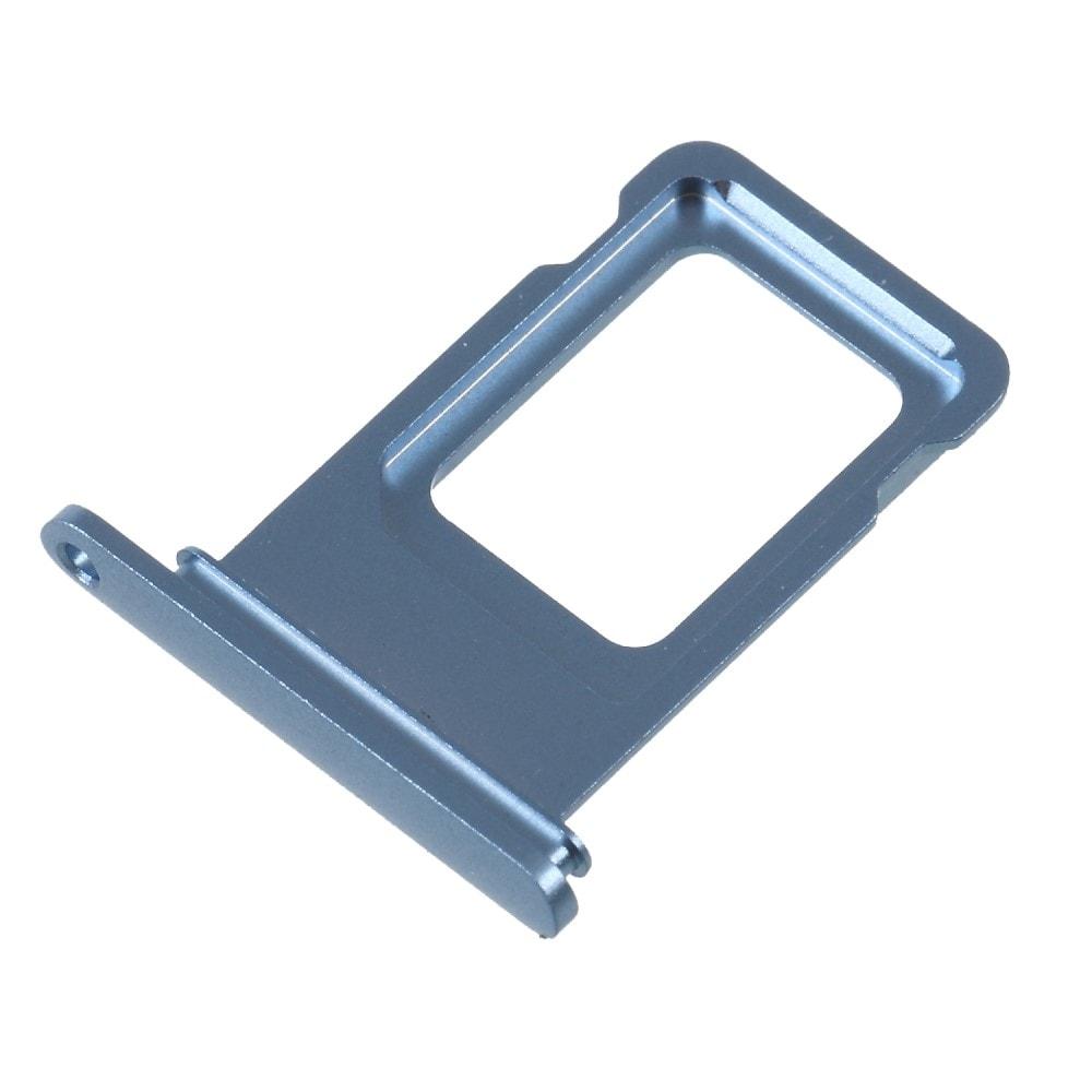 Apple iPhone XR šuplík na SIM kartu modrý