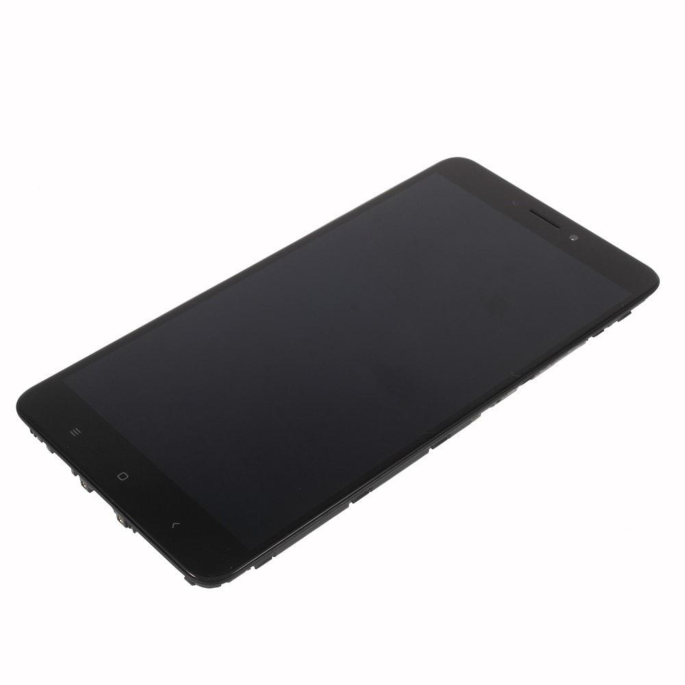 Xiaomi Mi Max 2 LCD displej dotykové sklo černé rámeček