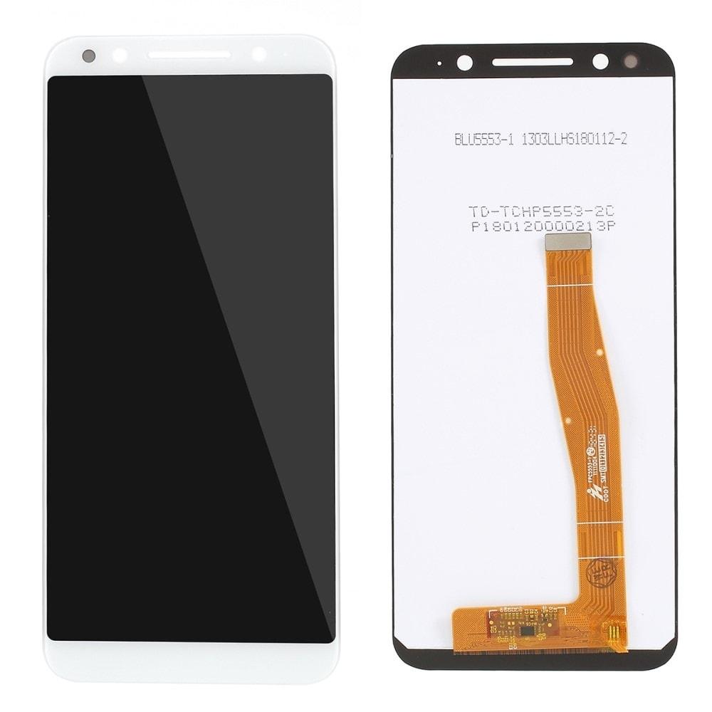 Vodafone N9 VFD720 LCD displej dotykové sklo bílé komplet přední panel