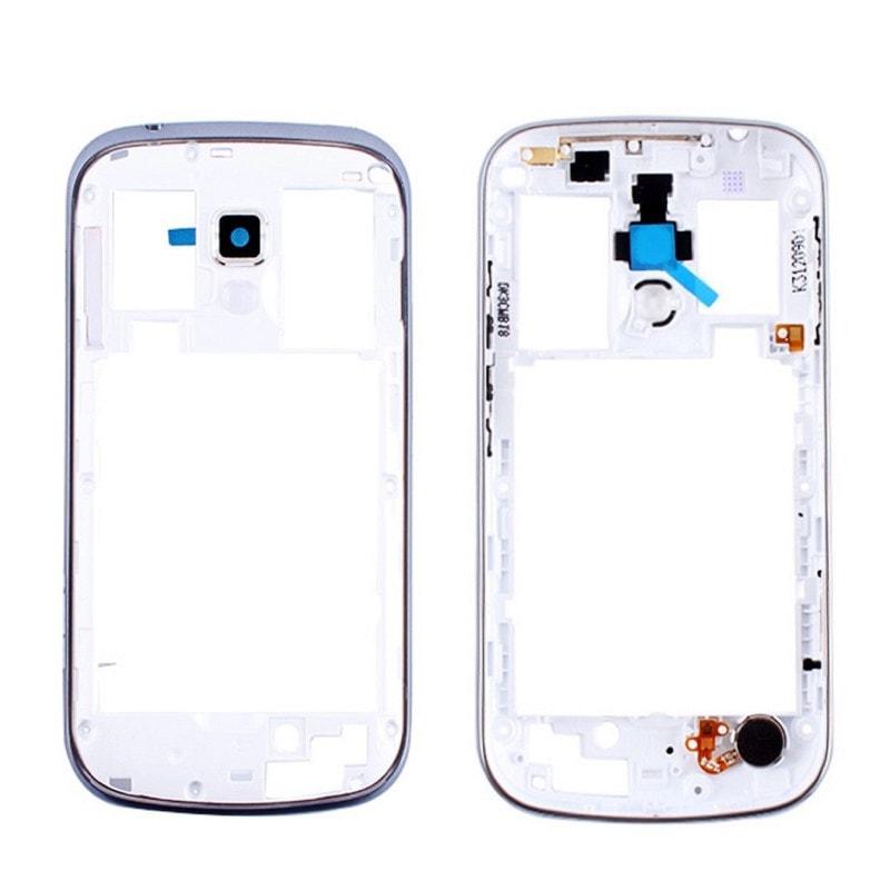 Samsung Galaxy S Duos S7562 střední rámeček + sklíčko kamery