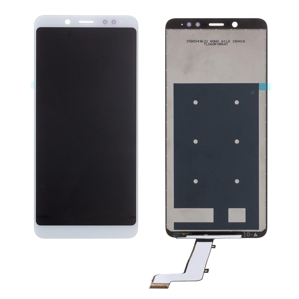 Xiaomi Redmi Note 5 LCD displej dotykové sklo bílé
