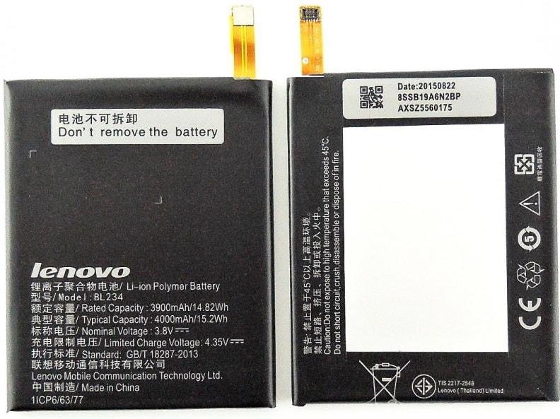 Lenovo P70 / P1m / A5000 baterie BL234