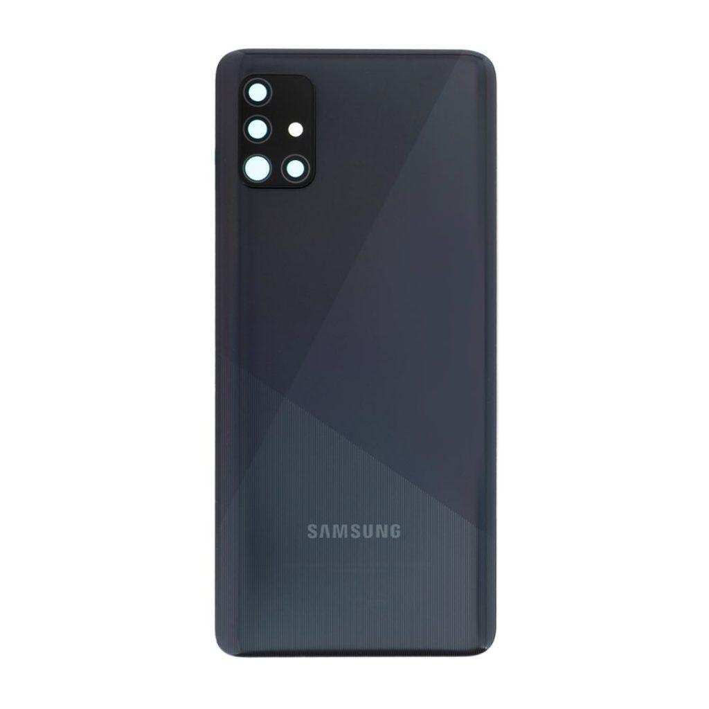 Samsung Galaxy A51 zadní kryt baterie včetně čočky fotoaparátu černý A515 Použitý