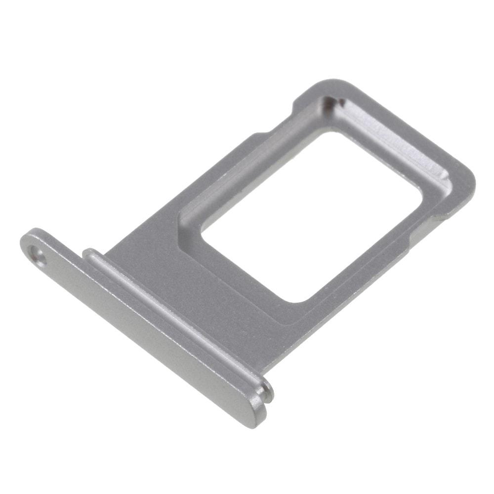 Apple iPhone XR šuplík na SIM kartu stříbrný