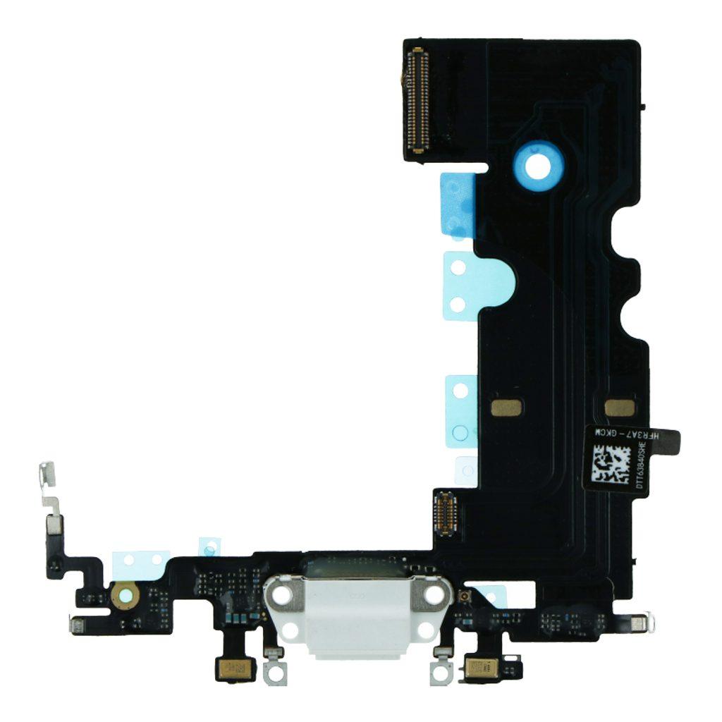 Apple iPhone SE (2020) dock konektor nabíjení napájecí flex lightning port sluchátka bílý