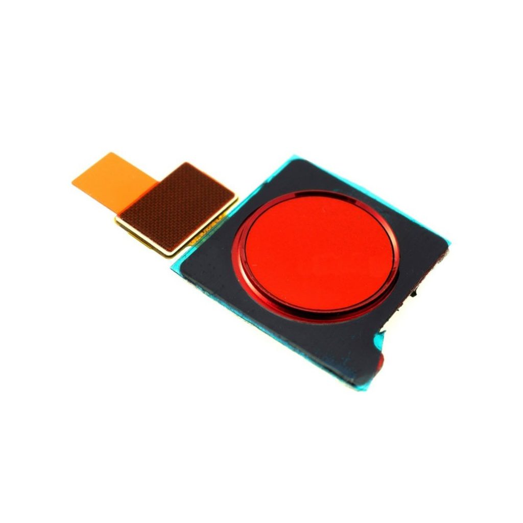 Honor View 20 čtečka otisku prstů flex senzor červený