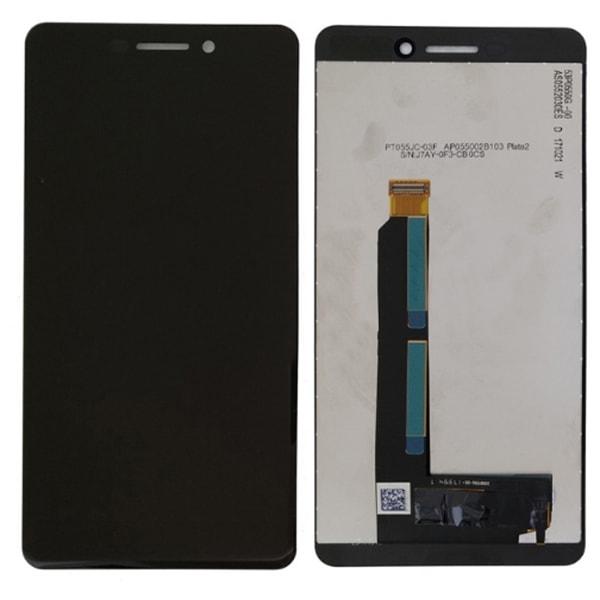 Nokia 6.1 (2018) LCD displej dotykové sklo černé
