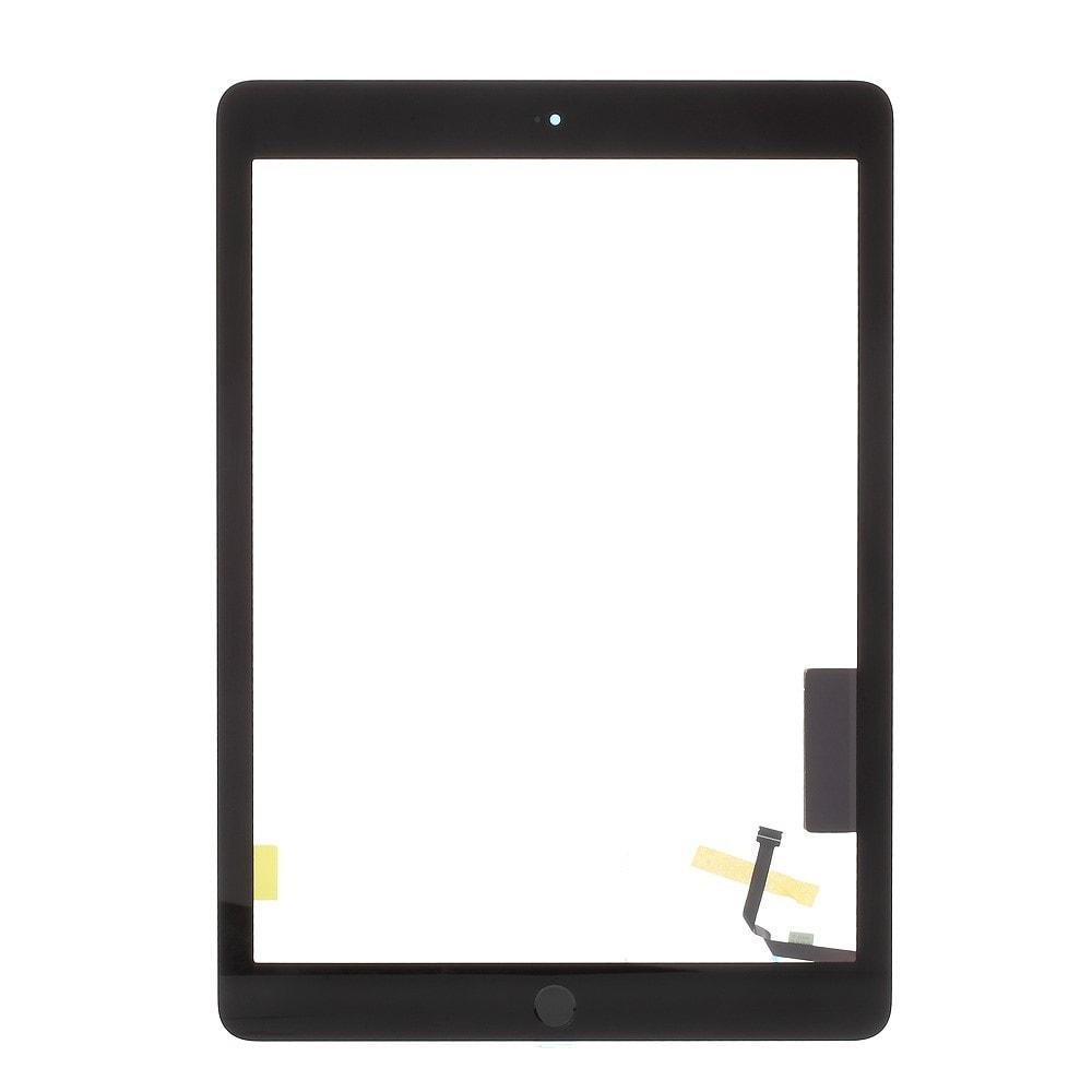 Apple iPad 9,7 2017 dotykové sklo přední panel osazený touch ID černý