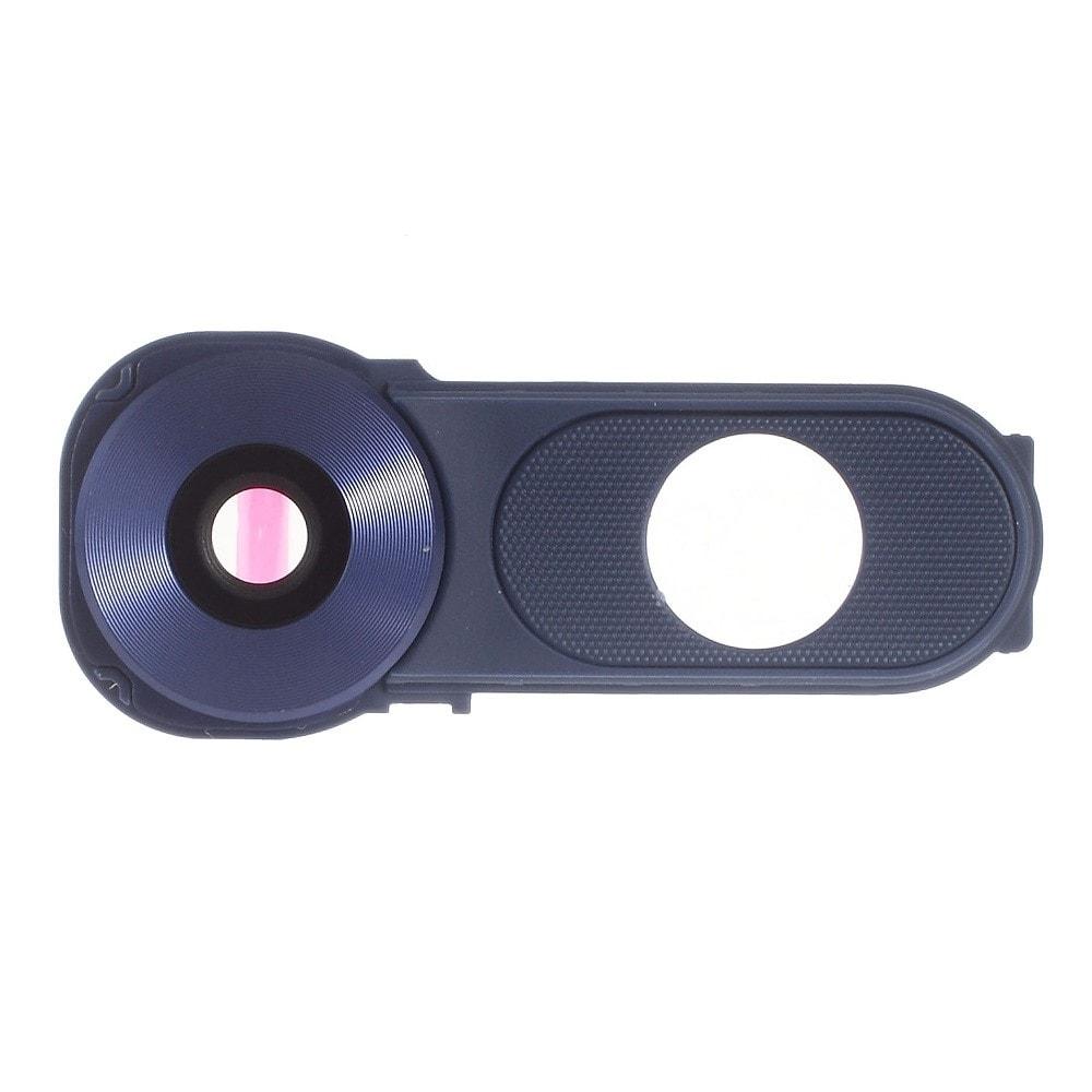 LG V10 krytka čočky fotoaparátu modrá