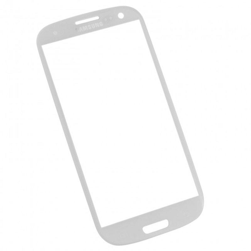 Samsung Galaxy S3 krycí sklo displeje bílé i9300
