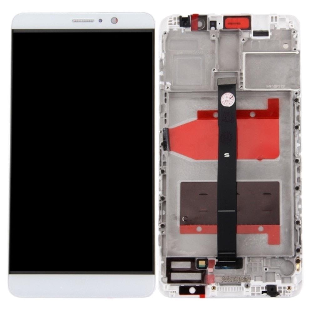 Huawei Mate 9 LCD displej dotykové sklo včetně rámečku bílý
